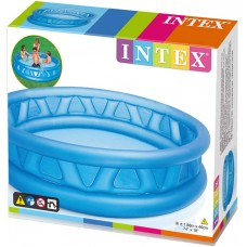 مسبح قابل للنفخ من انتيكس بسطح ناعم ولون أزرق 1.88m*46cm